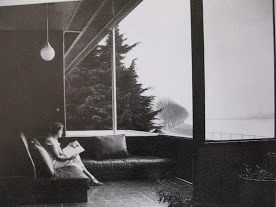 Dione Neutra enjoying the view